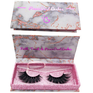premium 6d mink eyelashes packaging custom logo eyelash case