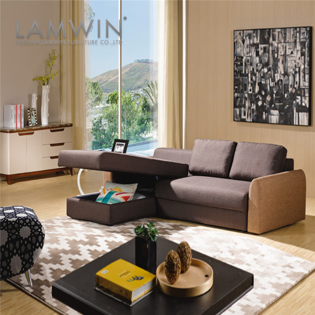 Wholesale Discount Victorian Sectional Sofa Furniture With Storage