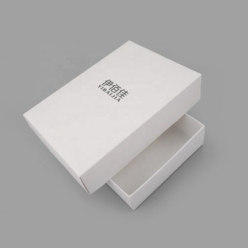 Luxury elegant candle gift box packaging with insert for sale