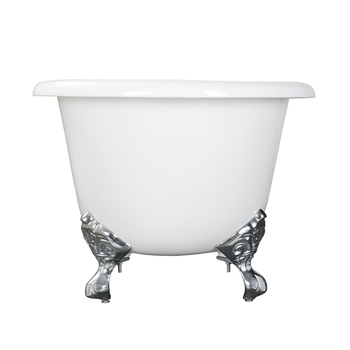 middle size double-ended bathtub white finishing for fap people