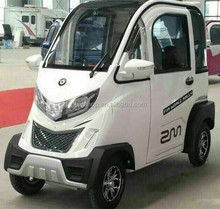 2017 Electric Mobility Scooter With Passenger Seats For Disable,New Energy Automible Vehicle 4Wheel Full Closed Electric Scooter