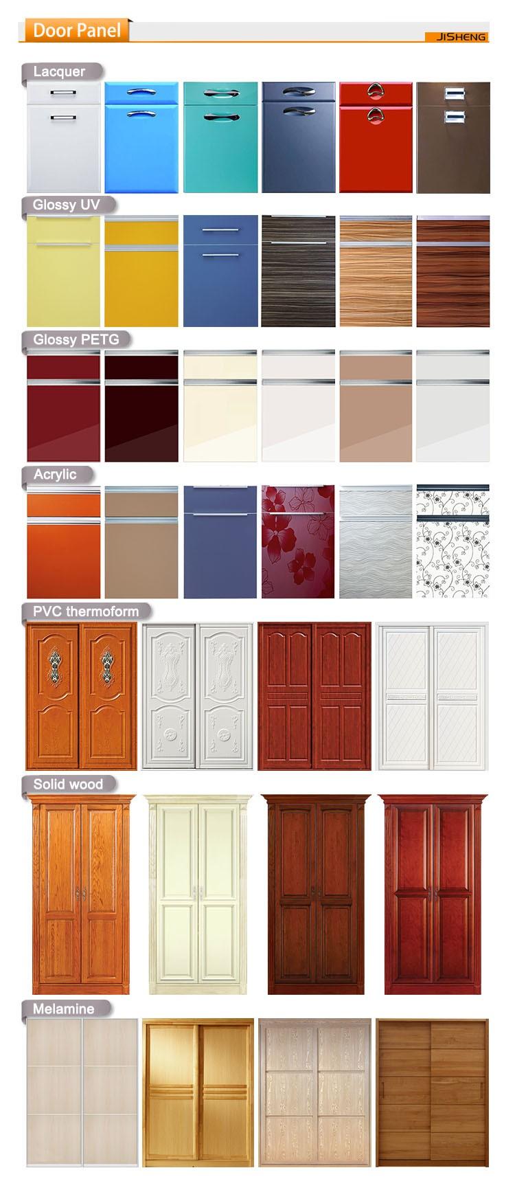 Melamine Bedroom Furniture Double Color Wardrobe Design Wardrobe System Furniture Bedroom