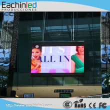 Korea 4.8mm Pitch LED full color display Outdoor aluminum cabinet led wall