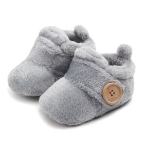 cheap winter children's cotton boots warm baby shoes
