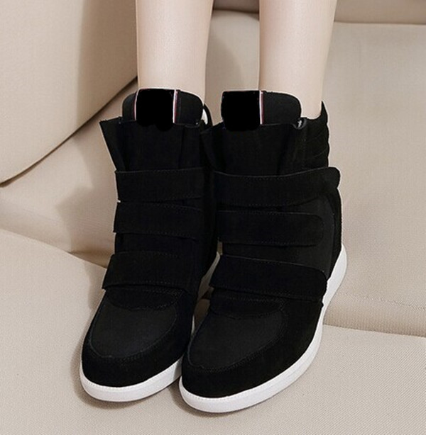 Hot sale! women wedge shoes/Height increasing shoes in casual style