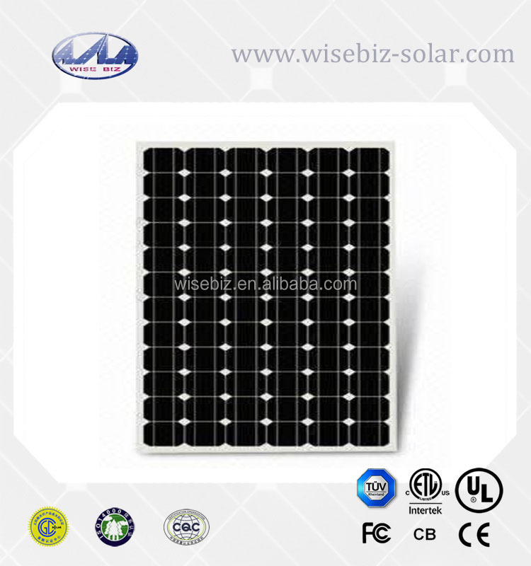 Home and road mono and poly silicon the lowest price solar panel