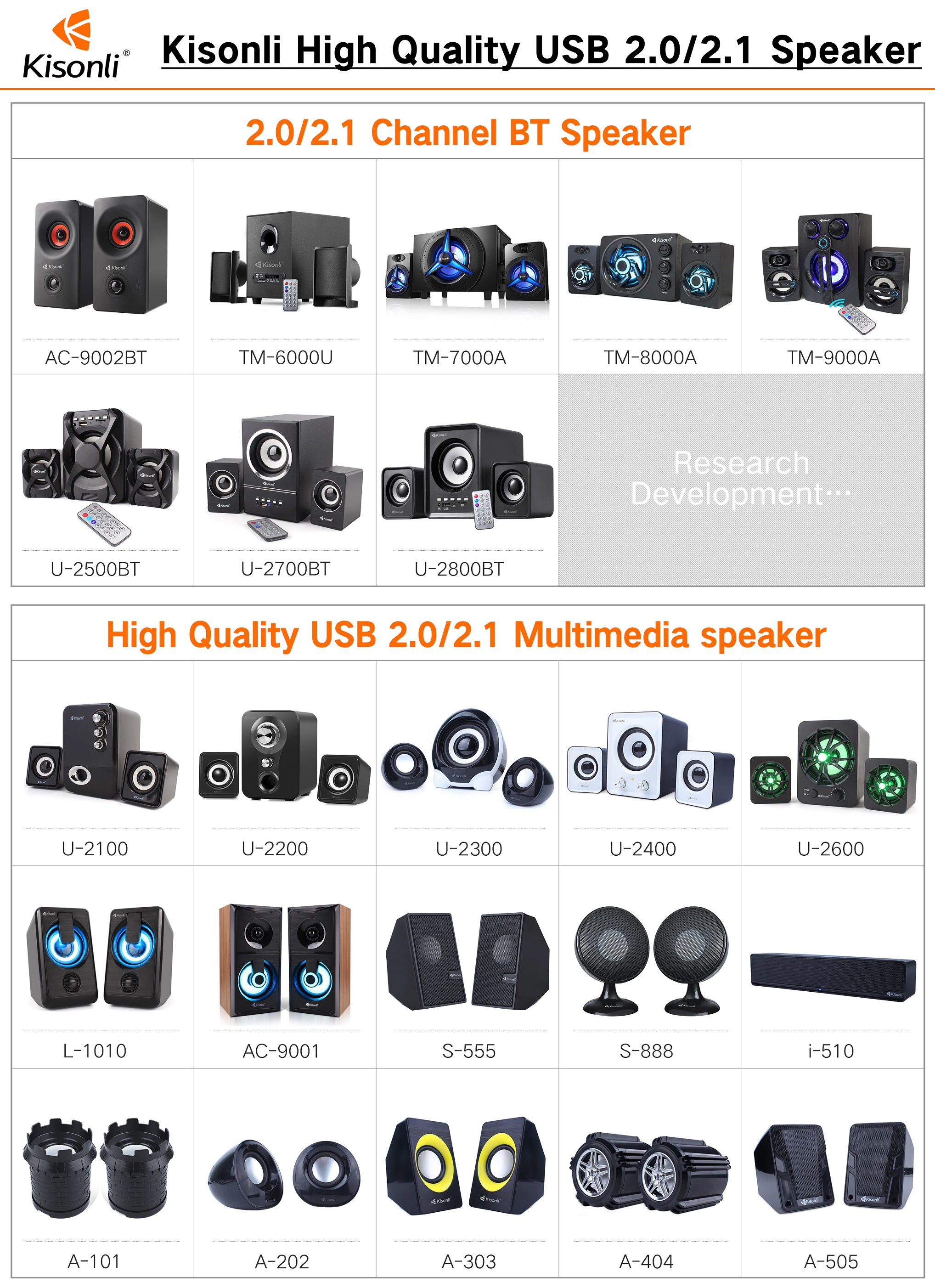 Grosir PC Kabel USB 2.0 & 3.5 Mm Antarmuka Home Theatre Speaker System untuk Amazon Supplier
