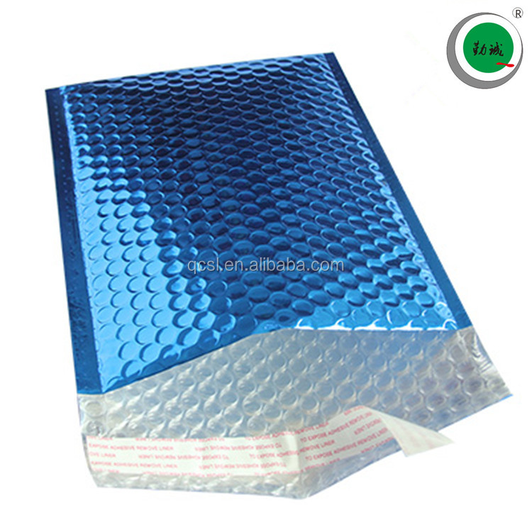printed decorative self sealing bubble mailers mailing bags courier bag for postage