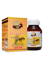 Organic Nature Propolis 80 CAPS health supplements