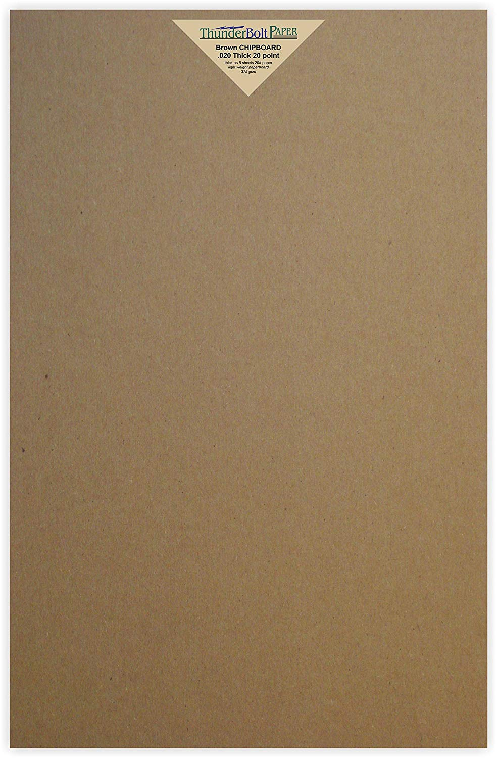 40 pack HGP 5 x 7 Chipboard Sheets for Arts and Crafts Scrapbooking Backing Mounting Board Picture Framing Shipping Cardboard