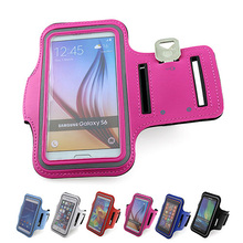 Outdoor Sports mobile phone holder For Samsung Galaxy S6 S5 S4 S3 ArmBand Case for galaxy A5 A7 bag