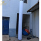 led inflatable pillar,inflatable tube with led lighting for decoration