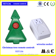 christmas tree decoration ,light remote transmitter