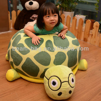 Funny Bean Bag Chair Kid Sofa Turtle Shape