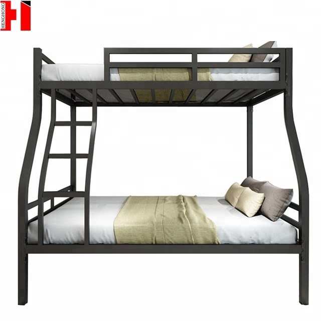 Hotel Bed Room Furniture Up Down Bed Steel Metal Frame Bunk Bed