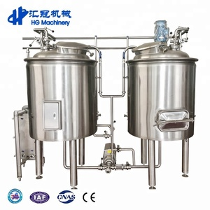 HG Micro Red Copper Beer Making Machine Alcohol Distribution Equipment