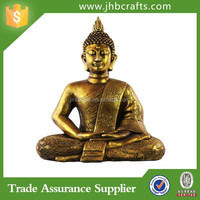 Urban Trends Resin Meditating Buddha Figurine Outdoor Home Decoration