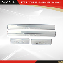 Stainless Steel Door Sill Scuff Plate For Livina 2013