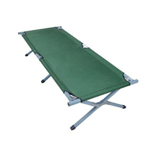 military olive green army bed folding bed cheap