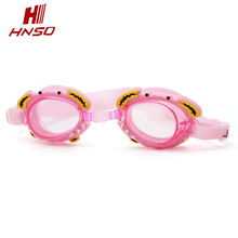 High quality funny cartoon children swimming goggles with anti-fog