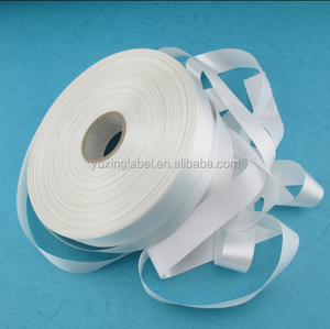 china suppliers cheap hand dyed silk ribbon of printed label tape
