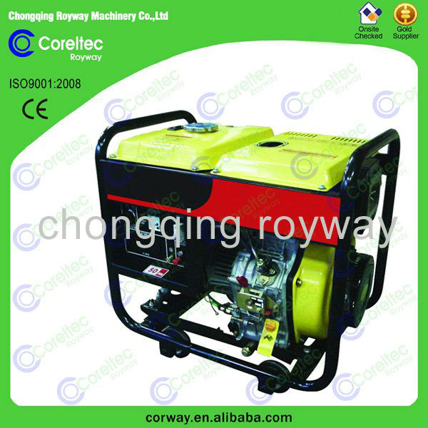 Air Cooled Open Type Portable Diesel Generator/1kva Silent Diesel ...