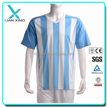 Nylon/spandex dry fit men gym wear, sport soccer wear