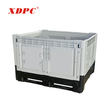 Wholesale plastic custom packaging shipping storage bin pallet container cage box with logo for sale