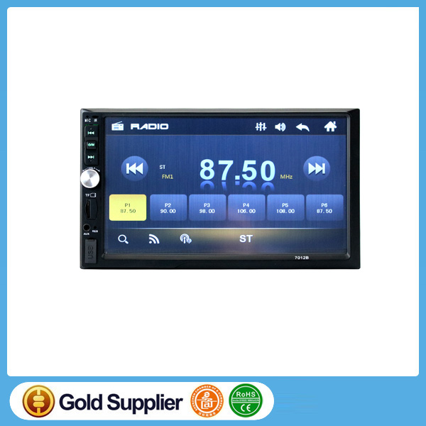 2 DIN Car Radio Player autoradio 7'HD Touch screen Bluetooth Rear View Camera Stereo FM/MP3/MP5/Video/Audio/USB Auto Electronics