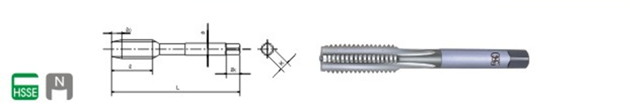 self tapping screw OSG brand with low price made in taiwan