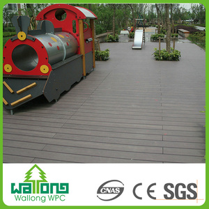 New design specialized making wpc grey wood floor