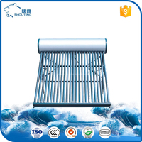 Low pressure solar heating system domestic solar water heater made in china