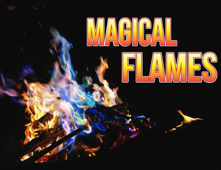 Factory direct magic colorful mystical fire flame colorant