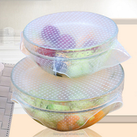 Good Flexibility 100% Colorful Silicone PVC Cling Film Food Wrap With Great Price