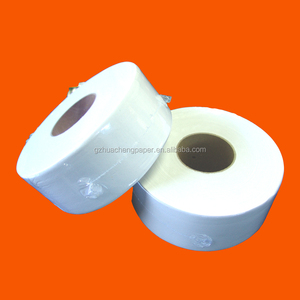 2 ply recycled Jumbo roll tissue/facial tissue paper jumbo roll