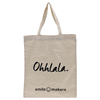 Custom logo tote large capacity cotton beach bag