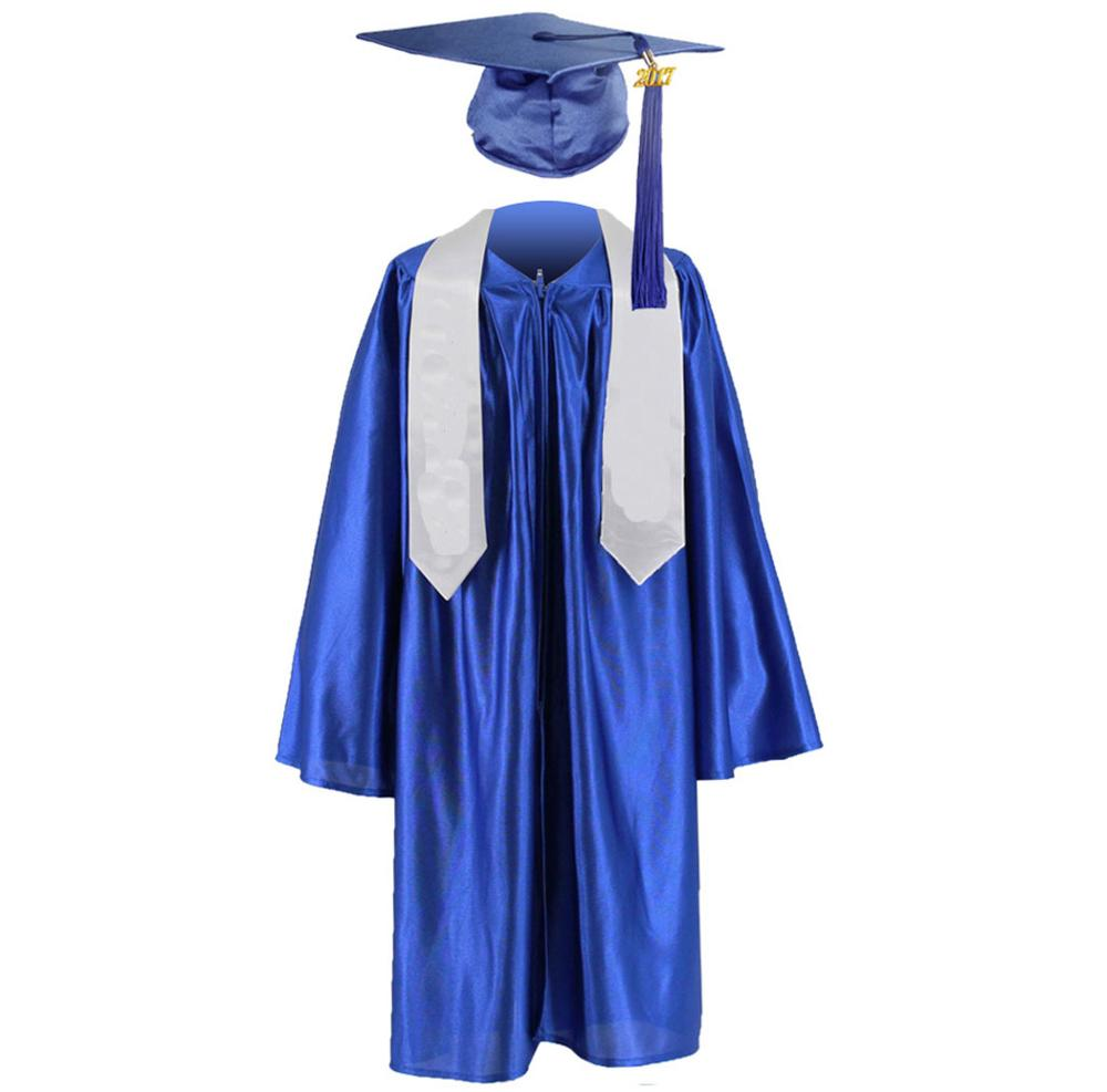 Wholesale Shiny Cheap Children Graduation Cap Gown Kindergarten ...