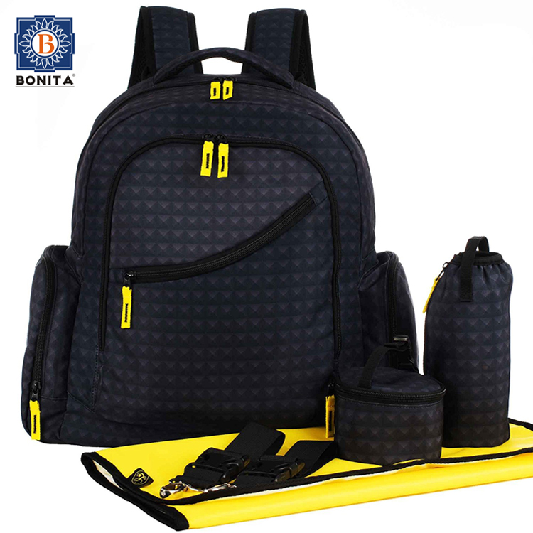 Dada Baby Diaper Land Bag Backpack Mom Boy Set With Change Mat Product On