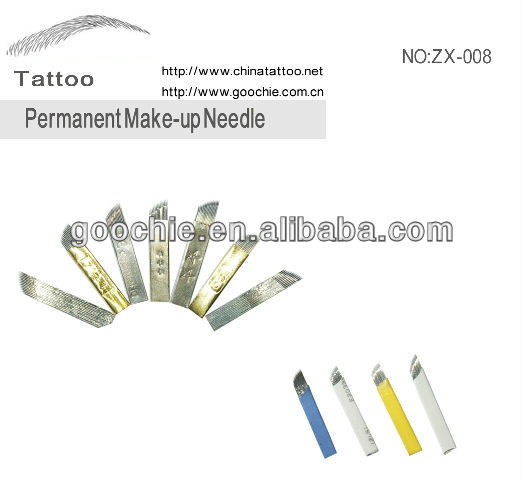 professionelle Permanent Make-up Tattoo Nadel Klinge für Microblading