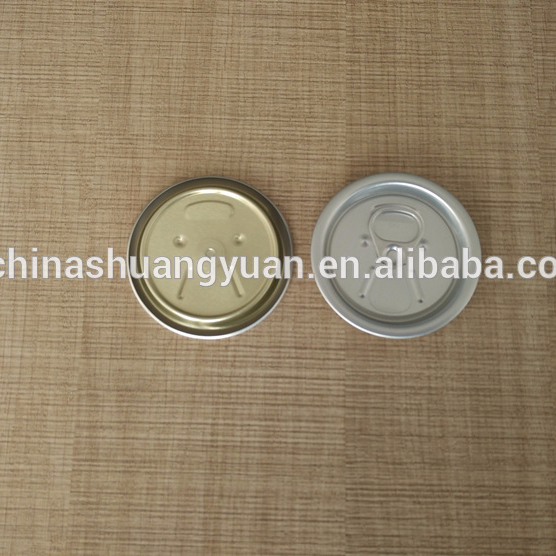 aluminIum or Metal tinplate #200 tin can easy open end for diam.52mm beverage can or food can
