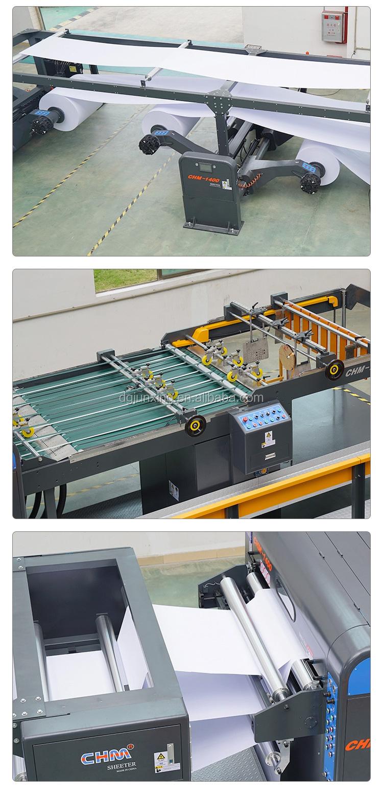 Presisi Tinggi CHM-1700 Listrik Pemotong Kertas Guillotine