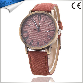 a38523493f3 Ladies Jeans Strap for Women Antique Watch Fashion Casual Wrist Watch  Relogio Feminino LW039