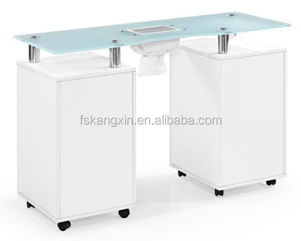 gel n gel glasplatte nagel tisch mit ventilator wei e farbe nagel tisch mit l fter kzm n053. Black Bedroom Furniture Sets. Home Design Ideas