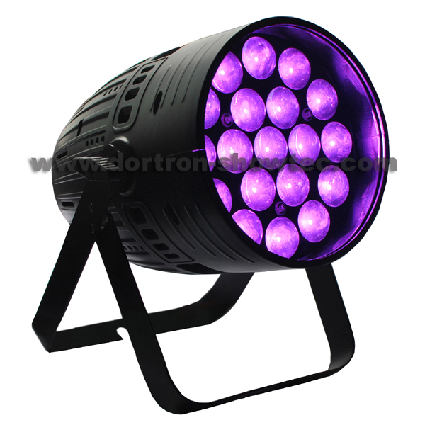 LED Par 19X15W RGBW 4in1 Zoom 5-60 Degree
