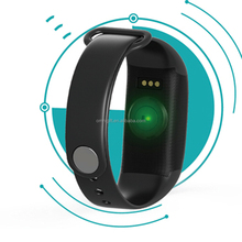 2017 design for family K18S bluetooth health wearable for Steps, calories, distance, Heart Rate Monitor