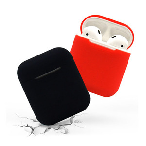 bluetooth earphone holder for airpods silicone case cover shockproof protective skin for apple airpod charging cases protector