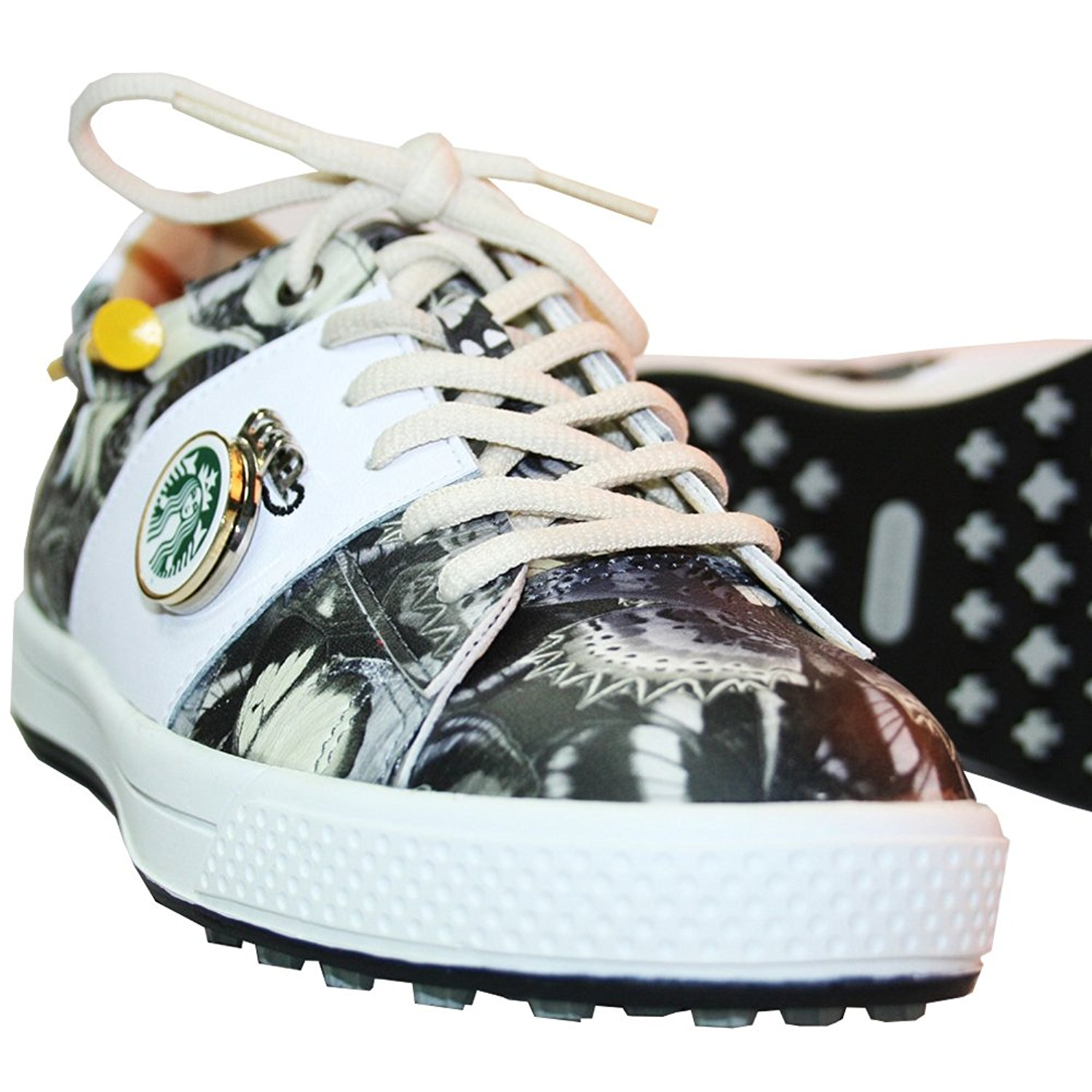 KARAKARA Spike-less Golf Shoes, KR-403, 3Colors (Black, Purple, Yellow) 225 - 250 mm, for Women