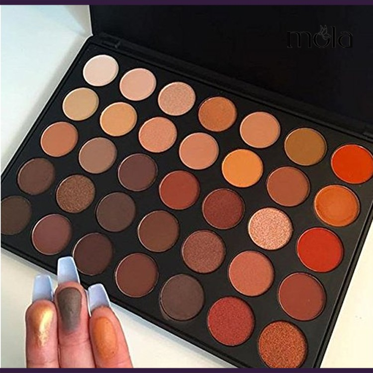 Professional Eyeshadow Makeup 35 Color Cheap Eyeshadow Palette Wholesale - Buy 35 Eyeshadow ...