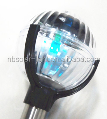 Led Colour Changing Lamp Solar Power Garden Decorative Lights