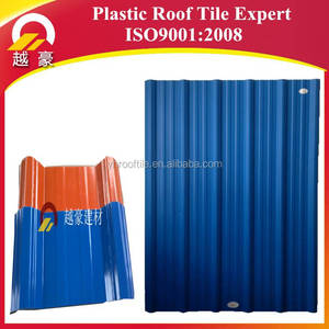 Flexible Building Materials For hut high strength roofing for breaking and tearing ASA PVC Roof Material Roof Tile